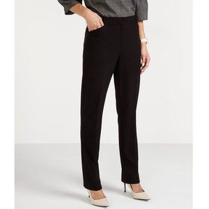 Reitmans Black Tapered Fit Dress pants with Pocket